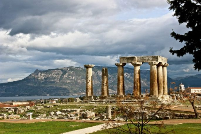 Gorgeous shot of ancient Corinth. Thanks, Isabella!