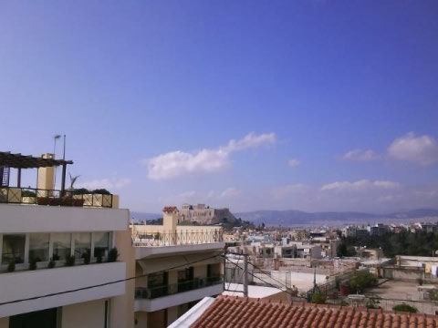The view from the Athens Centre, guaranteed to induce swooning.