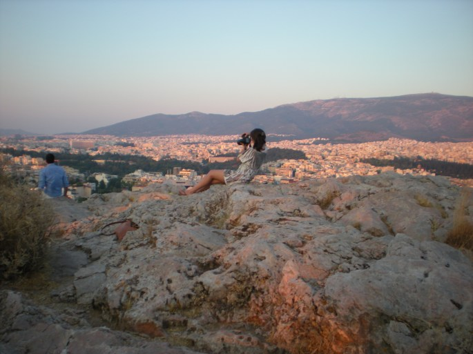 Athens--sunset photographer