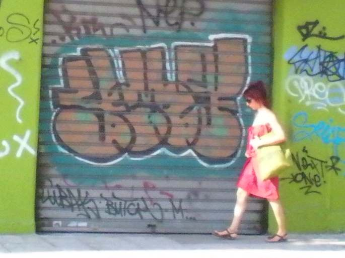 Photo taken by my beau. Monastiraki, July 2012.