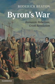 Byron's War cover