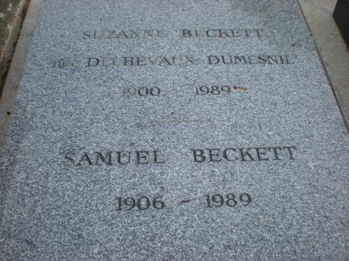 Beckett's grave