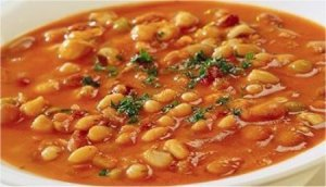 Fasolada: tasty, humble, warming bean soup.