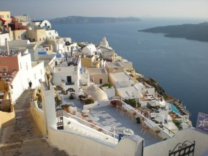 Santorini. July 2010. Photo by Doug Phillips.