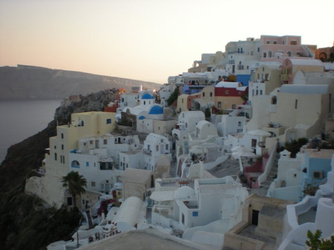 Oia, July 2010. Photo by Doug Phillips.